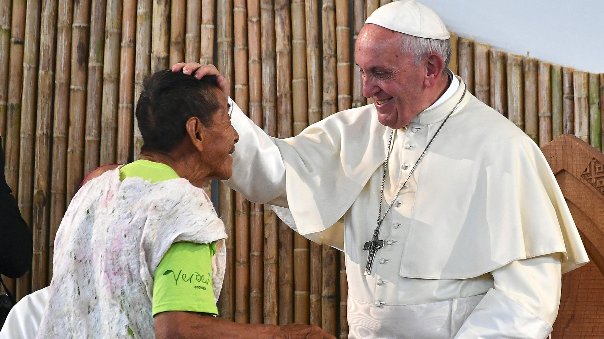 PERU-POPE-VISIT-INDIGENOUS